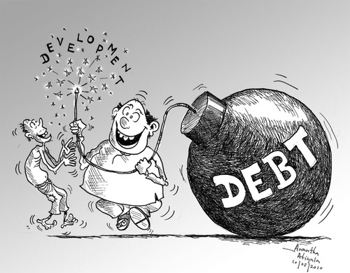 There's a debt-bomb brewing