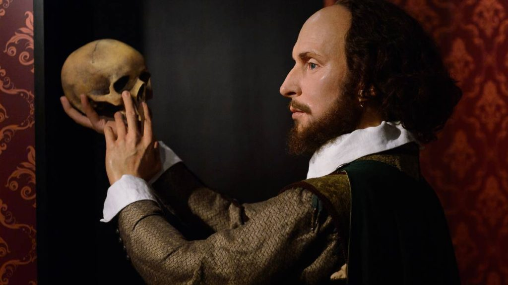 The secret message in old Shakespeare