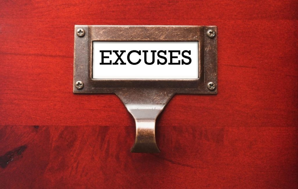 Truth Bomb Tuesday: Got excuses? Do this!