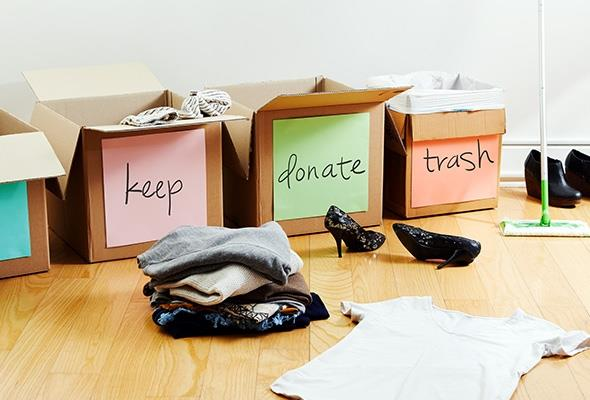 T-Bomb: how to declutter your life